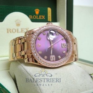 rolex replica datejust donna brillanti
